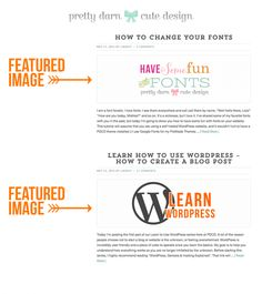 What Is A WordPress Featured Image & How to Display Blog Excerpts
