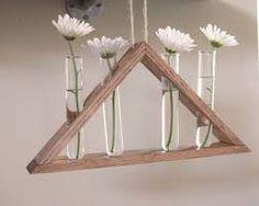 Resultado de imagem para vase reused wood