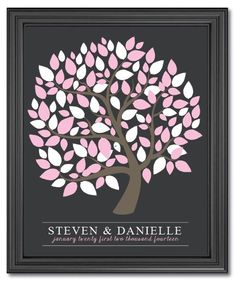 wedding Signature tree  custom wedding by IDoWeddingDesigns47, $39.99
