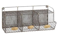 Metal Wire Wall Rack on OneKingsLane.com