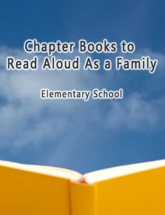 Anne Arundel County Public Library  Chapter Books to Read Aloud As a Family #ReadWithMe
