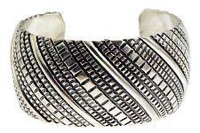 Tillie Jon, Bracelet, Overlay, Stamped Sterling Silver, Navajo Handmade, 6 5/8