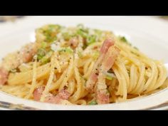Spaghetti Carbonara (Japanese-inspired Pasta Recipe) 和風カルボナーラ 作り方 レシピ - YouTube