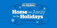 Schlage is giving away fantastic daily prizes including gift cards, Schlage door hardware and electronic locks.  Plus, when you enter you'll be eligible to win the grand prize: a $5,000 gift card!
