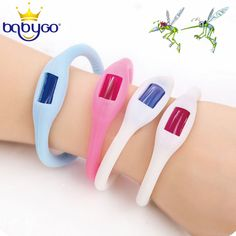 Professional Natural Mosquito Repellent Bracelet Wristband Band Anti-Toxic Anti Insect Bug For Children Adults mr010