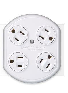 Rotating plugs to fit all your gadgets' power cords!