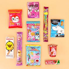 Japan Candy box for August included all these awesome Japanese candies & snacks. Summer is not over yet! The August box included so many super yummy sw