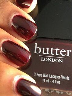 Butter London: La Moss  Ox blood red
