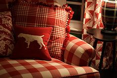 love all the red patterns.... read on another pinner's site, the color red represents 'life'