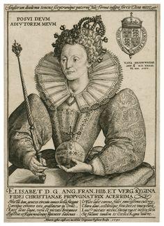 Elizabeth Engraving – 1592