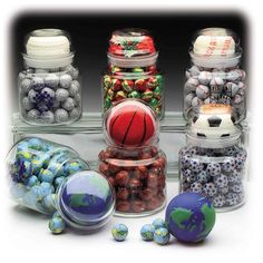 Candy Apothecary Jars : Custom Decorated Promotional Products