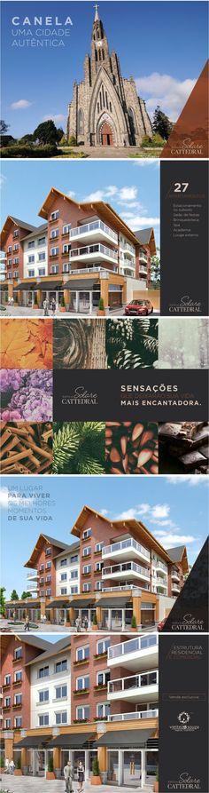 Cards para Facebook desenvolvidos pela Agência Conceito para divulgação do Solare Cattedral de Canela/RS.