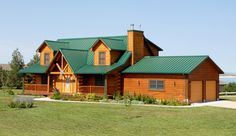 Fort Collins Co Metal Roofing And Steel Siding By Cedar Supply Green Roof House Steel Siding House Tin Roof House