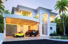 Best home plans modern pools ideas Classic House Design, Small House Design, Modern House Design, Dream House Exterior, Dream House Plans, Best Home Plans, Modern Pools, Luxury Homes Dream Houses, Dream Homes