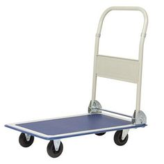 Hand trucks are called cart, dolly or trolley. Hand trucks generally have an L shape, with the handle at one end, wheels on the. Moving Dolly, Tractor Battery, Wheel Dollies, Folding Cart, Platform Deck, Trucks Only, Trucks For Sale, Warehouse, Baby Strollers