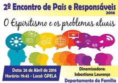 GPELA Convida para o 2º Encontro de Pais e Responsáveis em 2016  – Bangu - RJ - http://www.agendaespiritabrasil.com.br/2016/04/26/gpela-convida-para-o-2o-encontro-de-pais-e-responsaveis-em-2016-bangu-rj/