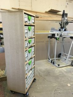 Festool workshop storage
