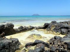 Fuerteventura > Corralejo, primo sabato d'estate con Lobos sullo sfondo ;)