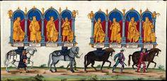 Artist: various, Title: »Triumphzug Kaiser Maximilians« Page 29, Date: 1526
