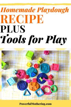Looking for a super easy homemade playdough recipe that will create soft, long-lasting play dough? Check out the blog for more details on this homemade playdough recipe with an extra sprinkle of tools of play! Now THAT has just upgraded playtime! It's easy to make with an easy prep and clean-up process, this playdough recipe is one for the books! Surely, your little one will be busy getting his/her hands all over it! Best Homemade Playdough Recipe, Homemade Paint, It's Easy, Super Easy, Learning Shapes, Arts And Crafts, Diy Crafts, Stress Reliever, Do It Yourself Crafts