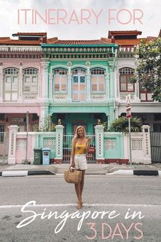 Itinerary for Singapore in 3 Days with Mint Travel Accessories