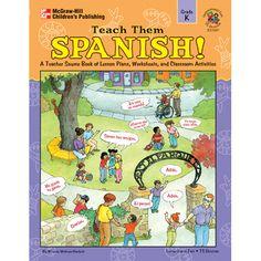 TEACH THEM SPANISH KINDERGARTEN