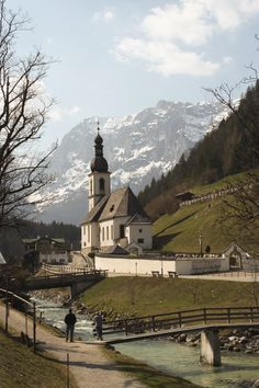 I first visited the village of Ramsau in 1964 not a lot has changed since then