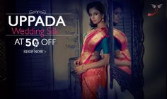 Soft and delicately woven, Uppada soft silk sarees are a manifestation of a woman's emotions.