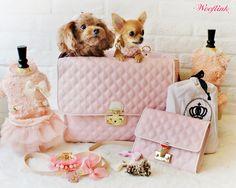 WOOFLINK - Hip designer dog clothes: CHIC BAG 4 IS BACK IN STOCK ♥