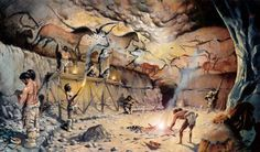 Olivier-Marc Nadel - Lascaux Cave Prehistoric Man, Prehistoric Creatures, Ancient Art, Ancient History, Image Doc, Cro Magnon, Early Humans, Art Antique, Human Evolution