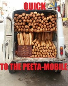 Quick! To the Peeta-mobile! The Hunger Games
