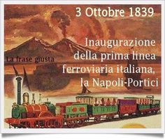 Napoli-Portici line since 1839