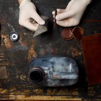 How to make a cylindrical case for glasses