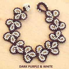 Ehi, ho trovato questa fantastica inserzione di Etsy su https://www.etsy.com/it/listing/248193077/turkish-oya-lace-bracelet-leaf-11-colors