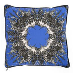 Heal's - Good Design, Well Made. Room London, Blue Cushions, Soft Furnishings, Savage, Bedroom Ideas, Throw Pillows, Pure Products, House, Inspiration