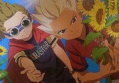 ❀  ~「 Kidou Yuuto and Gōenji Shūya from Inazuma Eleven Aresno Tenbin ❙ Magazine Animage 」