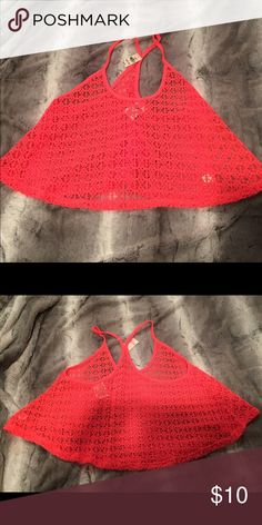 Victorias Secret crop top Baithing Suit cover up New with tags never worn Victoria's Secret Tops Crop Tops