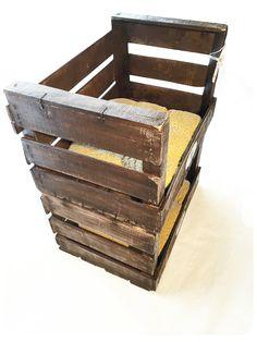 cajas antigua de madera, personalizada por REinventa12
