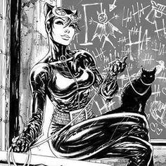 Catwoman by Tyler Kirkham