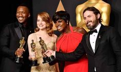 The 89th Oscars winners #BestSupportingActor Mahershala Ali #BestActress Emma Stone #BestSupportingActress Viola Davis and #BestActor Casey Affleck posed together with their trophies. Congratulation for all the winners. Head to our website to read more about this year Academy Awards #emmastone #mahershalaali #violadavis #caseyaffleck #oscars2017 #marieclaire #marieclaireindonesia  via MARIE CLAIRE INDONESIA MAGAZINE OFFICIAL INSTAGRAM - Celebrity  Fashion  Haute Couture  Advertising  Culture…