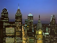 Philly - I'll miss the skyline.  I remember most of the tall buildings going up and the arguments over going higher than Billy Penn's hat on City Hall - a gentleman's consideration when building office buildings.