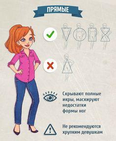 Как выбрать джинсы для своего типа фигуры: гид по фасонам 7