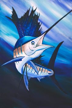 Hey, I found this really awesome Etsy listing at https://www.etsy.com/listing/160094847/sailfish-acrylic-print-on-canvas-custom