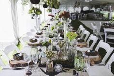 Botanical Olive Farm Wedding by Justin Davis Farm Wedding, Wedding Events, Weddings, Getting Married, Table Settings, Bride, Stone, Photography, Wedding