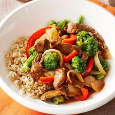This fast chicken and vegetable stir-fry dinner beats takeout any day!