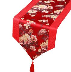 Table Runners A Chinese New Year Decorating Ideas, Decor Products, Accents & Accessories Table Runner And Placemats, Table Runner Pattern, Quilted Table Runners, Asian Interior Design, Chinese Interior, Hong Kong, Chinese Table, New Year Table, Oriental Decor