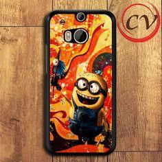 Minion HTC One M8 Mini Black Case