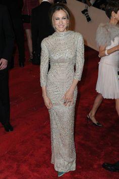 Diamonds Crusted Sarah Jessica Parker Dress