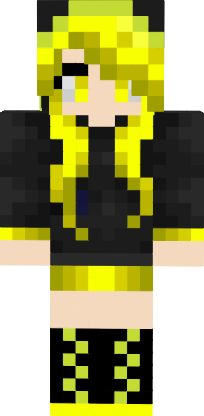 Yellow Ender Girl
