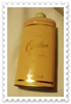 Vintage 60s Avon Cotillion Perfumed Talc Powder Metal Shaker